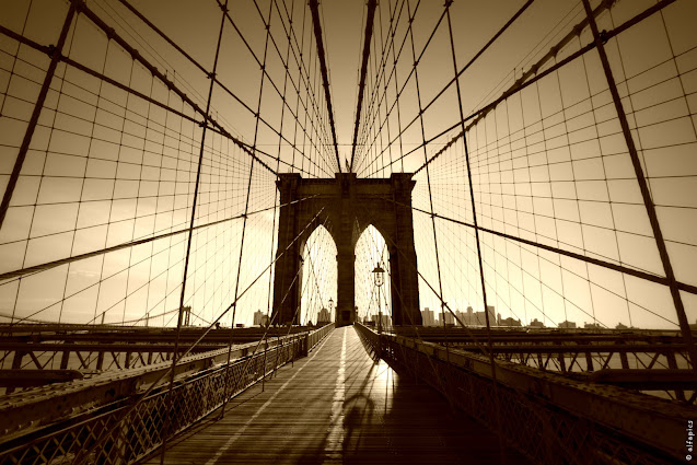 Ponte di Brooklyn-New York