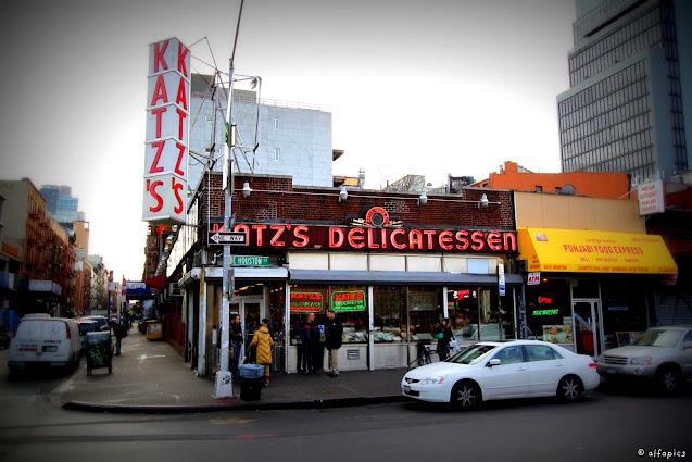 Katz's delicatissen-New York