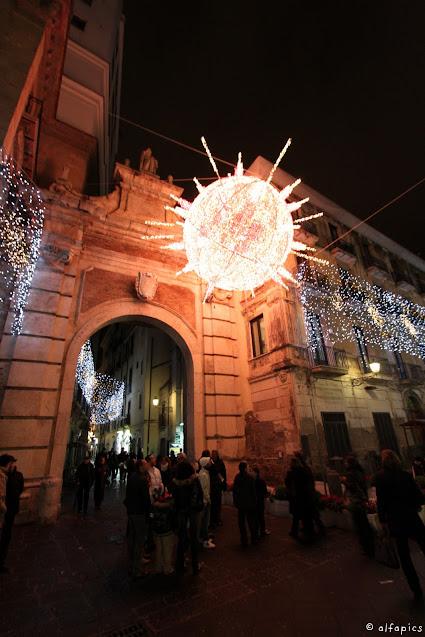 Luci d'artista a Salerno-Costellazioni e pianeti