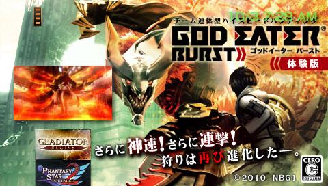 Download God Eater Burst Demo Now | Free PSP Games Downloads - TJS Daily