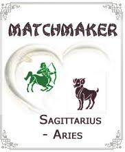 Linda's Love: Aries Woman and Sagittarius Man in love - Orange