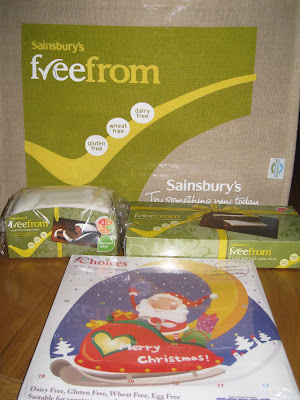 A Sainsbury's freefrom Christmas Dinner