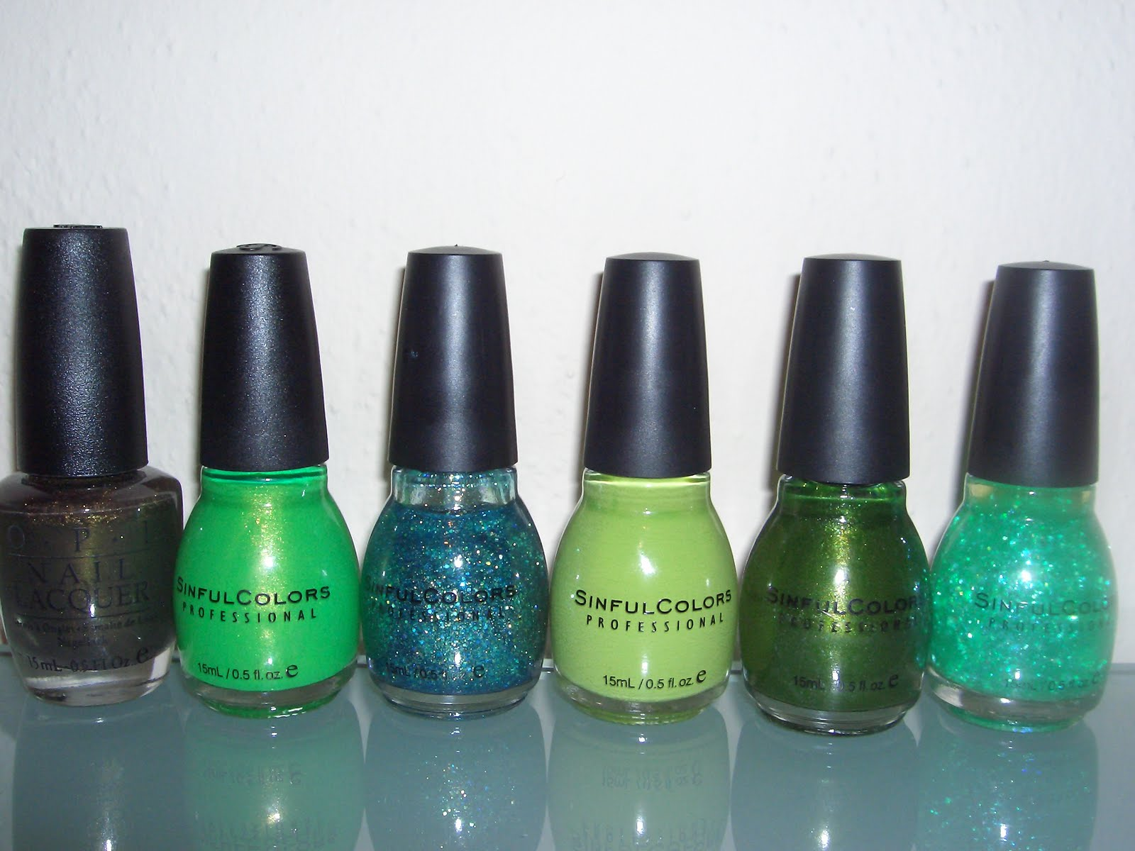 Nail Polish Obsession Green Mint Stash
