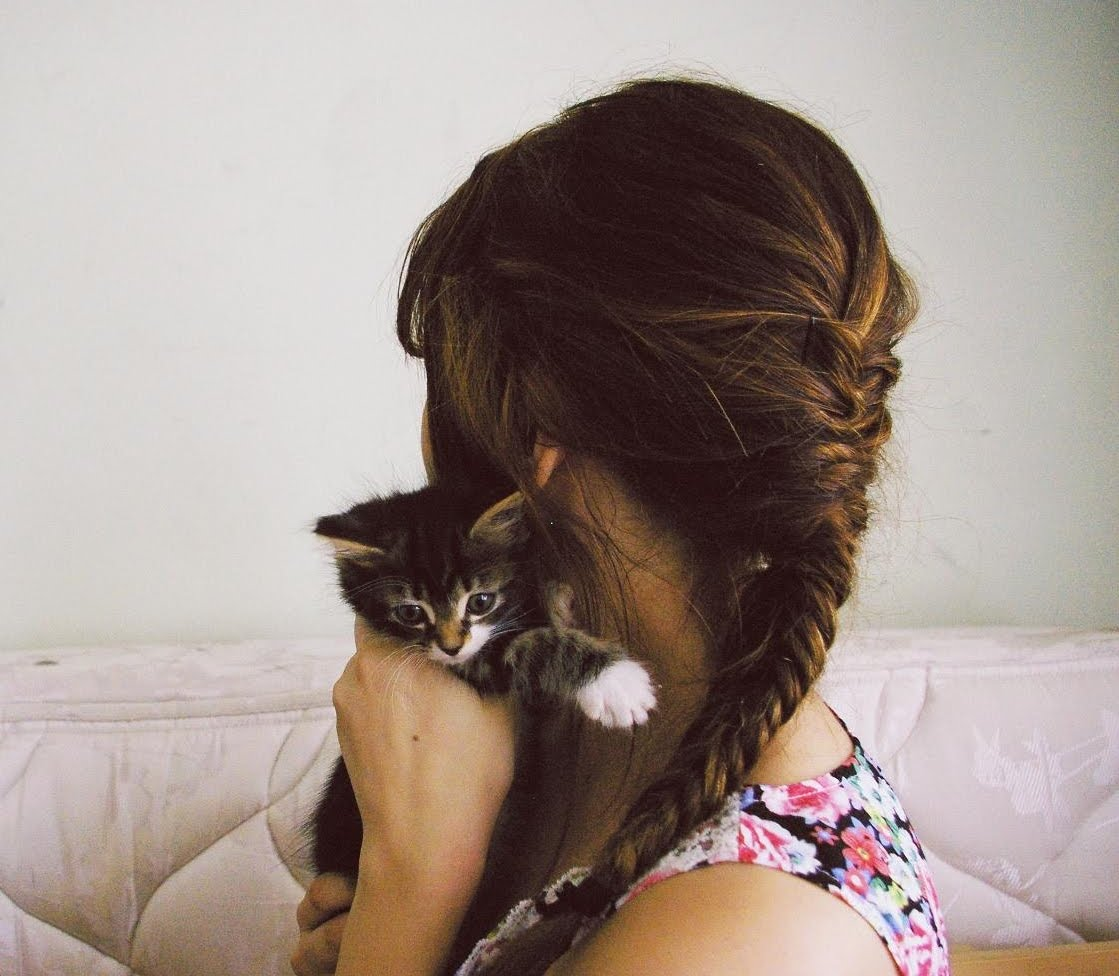 Superb The Public Diary Fishbone Braid And Cat Hairstyles For Women Draintrainus