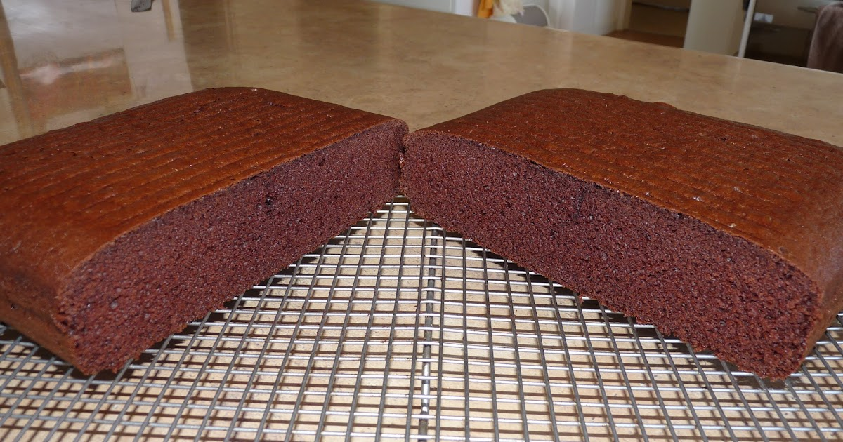 Thermomix Chocolate Slab Cake