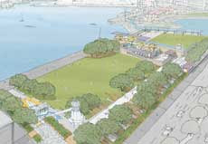 Winning design for Frank Kitts Park