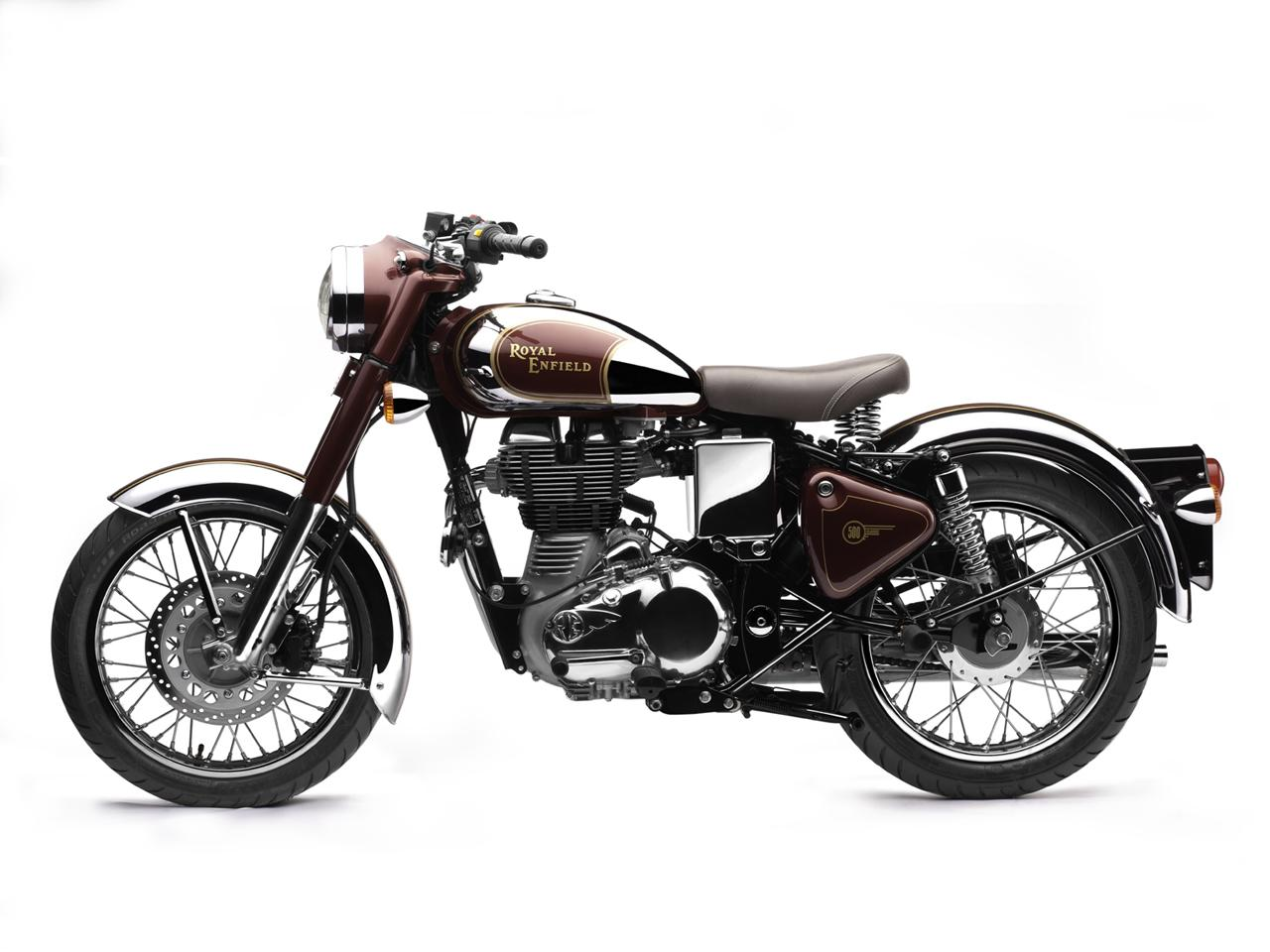royal enfield new classic chrome bullet 500 uce for usa. Black Bedroom Furniture Sets. Home Design Ideas