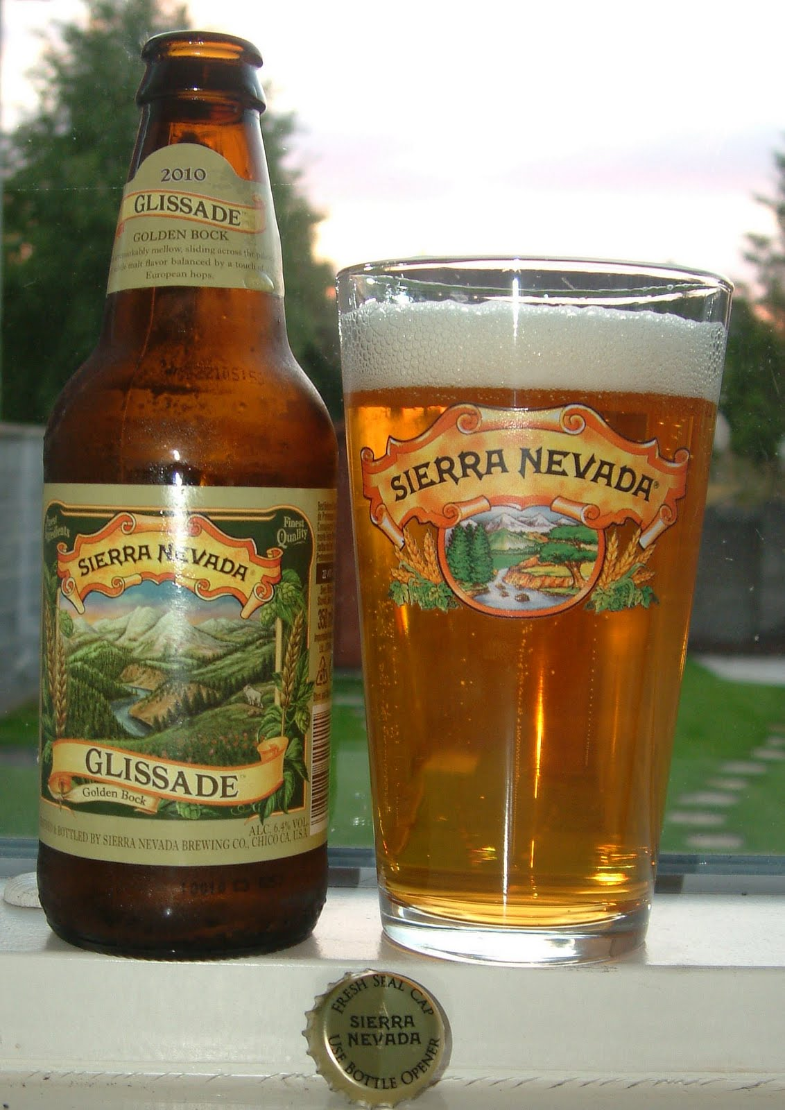 4a2fc4d27e New from California's Sierra Nevada is Glissade, a golden bock which  follows their Kellerweis in being an attempt at recreating a German style,  ...