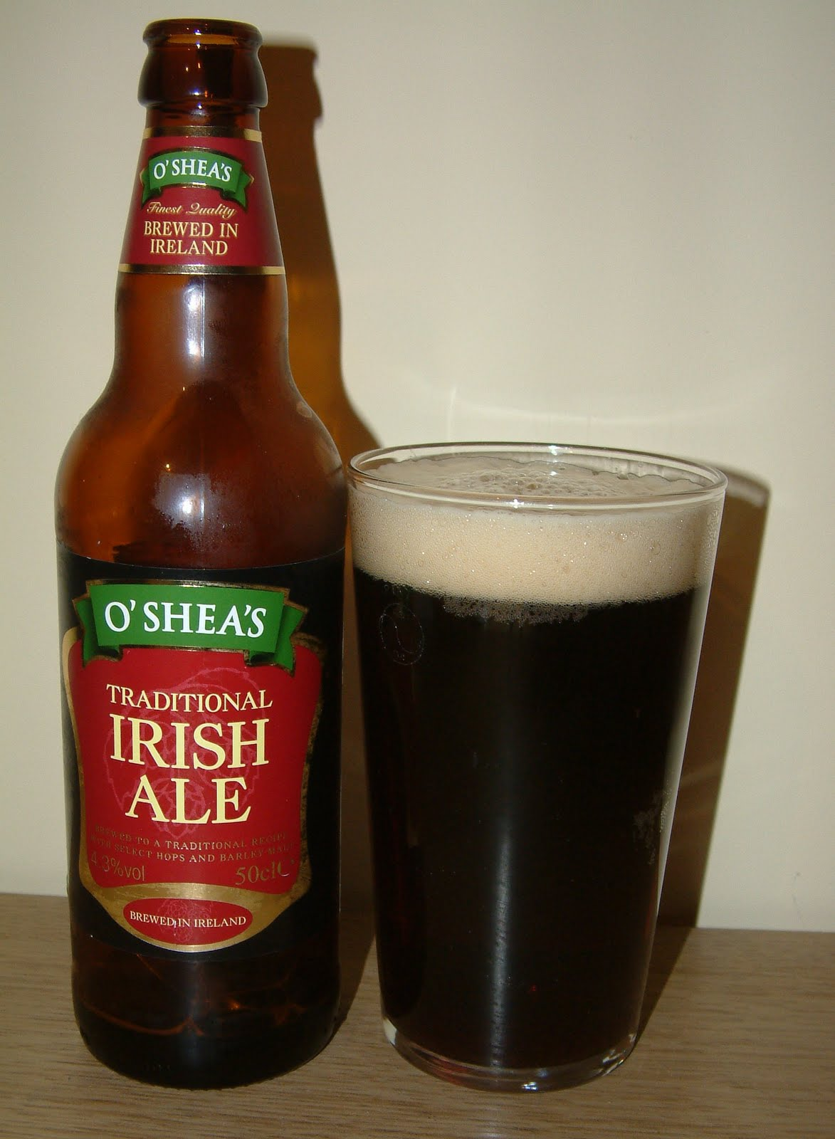 At The Same Time Aldi Have Two New Irish Brews On Shelves It Doesn T Say Where They Re From Other Than Ireland And Branding Is O Shea S