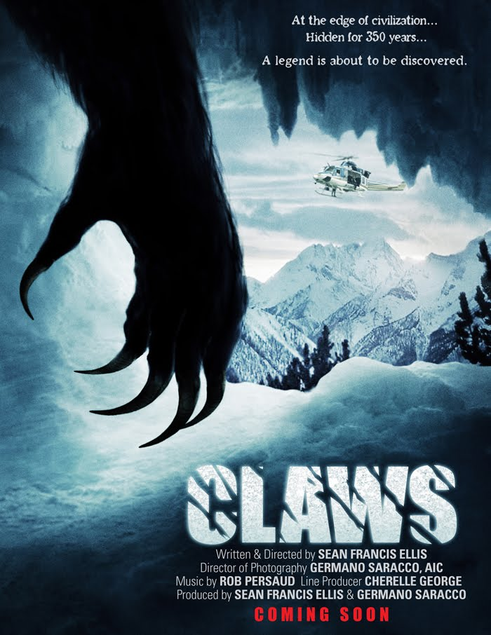 Monster Island News: Yet Another Yeti Movie - CLAWS