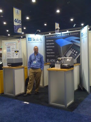 BioTek booth at Neuroscience 2010