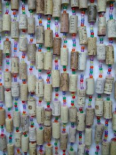 poulsbohemian Wine Cork Curtain