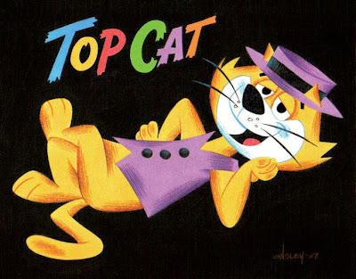TOP CAT - 1962 HANNA-BARBERA TV ALLEY CAT PALS!   World of ...