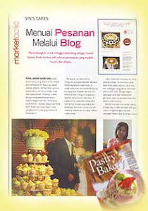 Vin's Cakes on Pastry & Bakery Magazine - June 2009 Edition