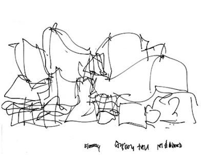 henryck + design + miami: Famous Architect Sketches!!