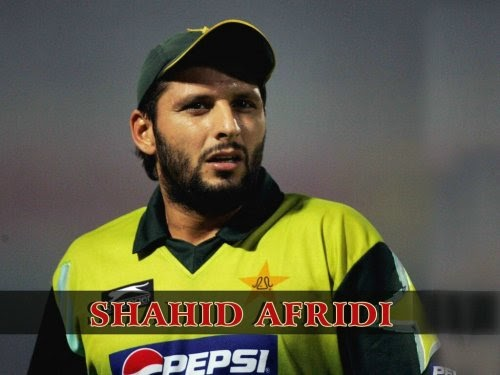 Wallpapers: Shahid Afridi Photos & Biography & Videos