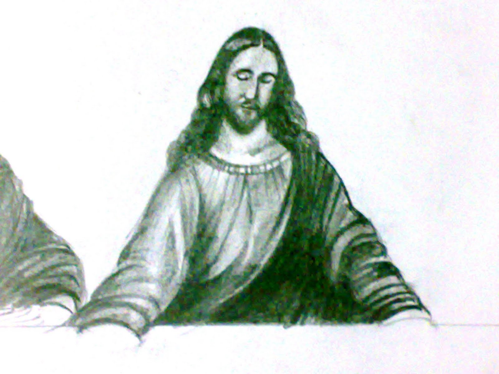 In the fictional book the da vinci code daniel brown has his character teabing suggest that the figure seated to jesus right is not the disciple john