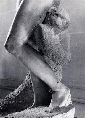 Miguel Ângelo, Escravo inacabado para túmulo de Júlio II, c.1515