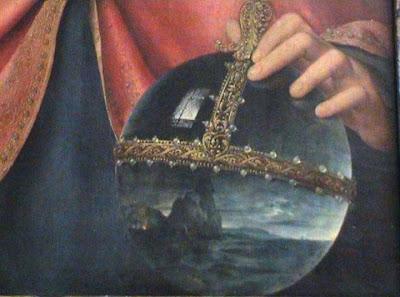 Joos van Cleve (c. 1464-c. 1540) Salvator Mundi, c. 1512