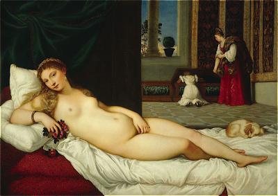 Ticiano, Vénus de Urbino, (1545-49)