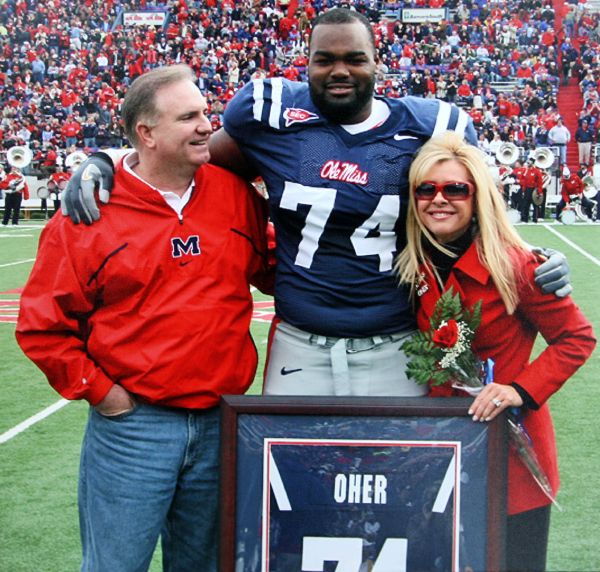 leigh anne tuohy and michael oher relationship with
