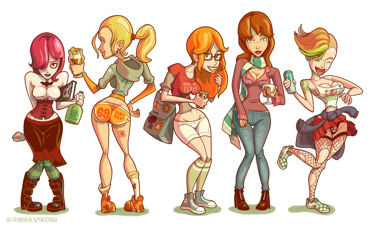 Types of college girls