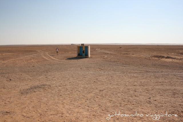 Bagno nel deserto