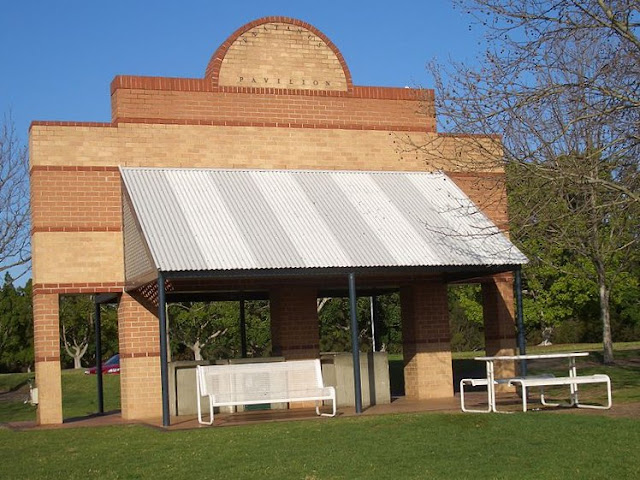 Pavilions Above Scattered Throughout Bicentennial Park Provide Shelter And Barbecue Facilities For Visitors Who Picnic In The