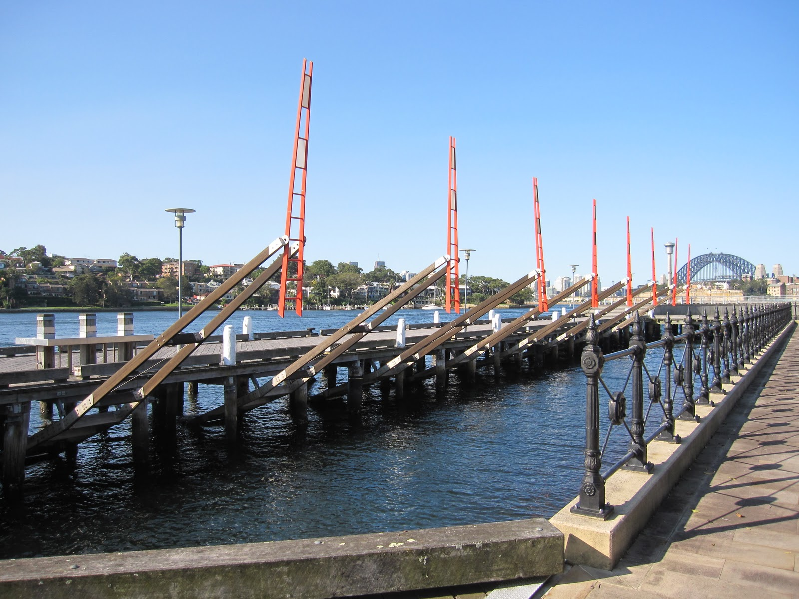 Sydney city and suburbs pyrmont tied to tide tied to tide is a kinetic artwork located along the boardwalk on the waterfront of pyrmont point park in the inner west suburb of pyrmont nvjuhfo Gallery