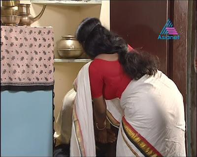 ACTRESS SAREE PICTURES Serial Actress Shalu Menon Big Ass In Saree
