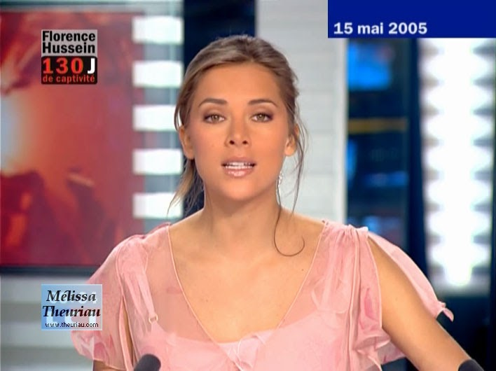 Masala Figures: Melissa Theuriau-Most gorgeous TV anchor in the World