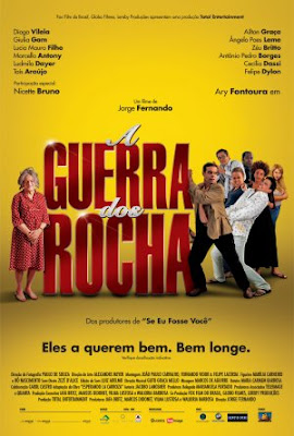 Poster do filme A Guerra dos Rocha
