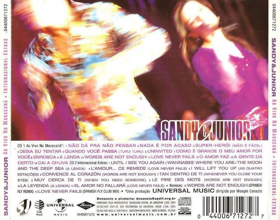 Download discografia sandy e junior.