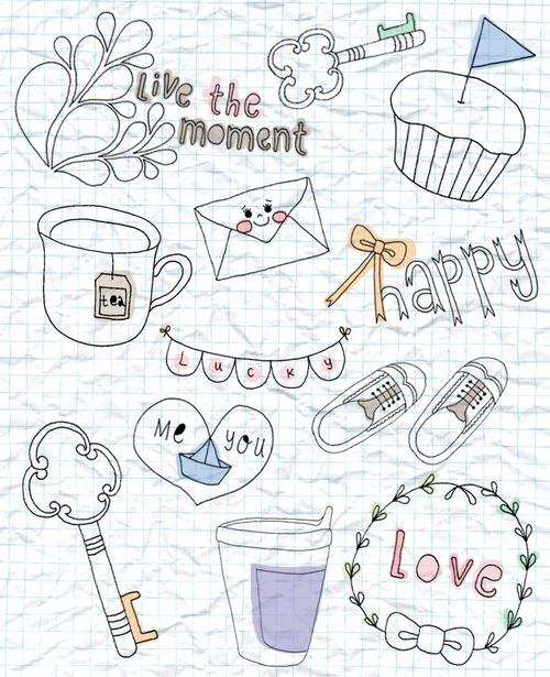 Doodle Notebook Quotes. QuotesGram