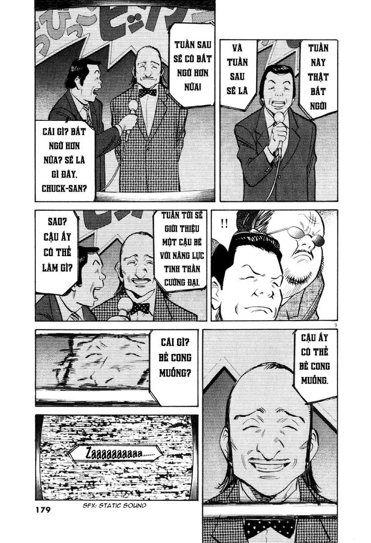 20th Century Boys chapter 202 trang 17