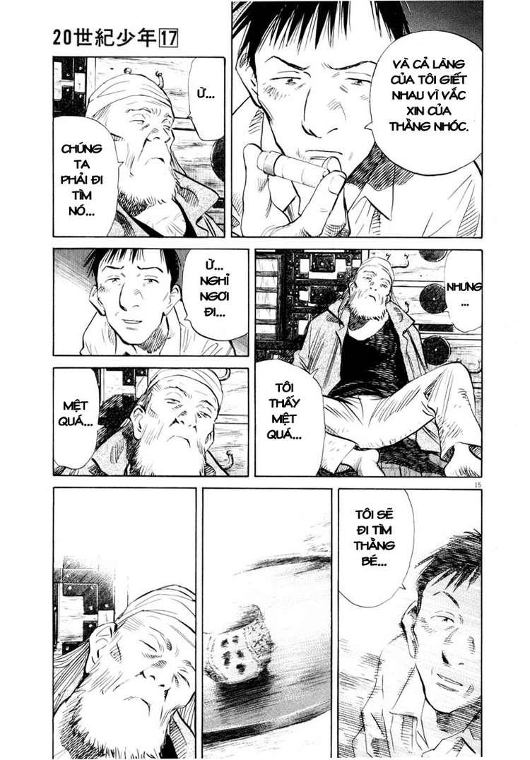 20th Century Boys chapter 187 trang 29
