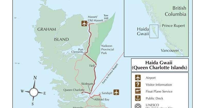 Haida Map