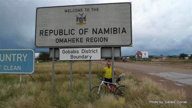 Botswana / Namibia Border