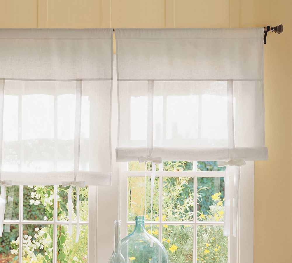 tie up shade curtains