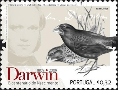 Resultado de imagem para SELO DE  Charles Darwin