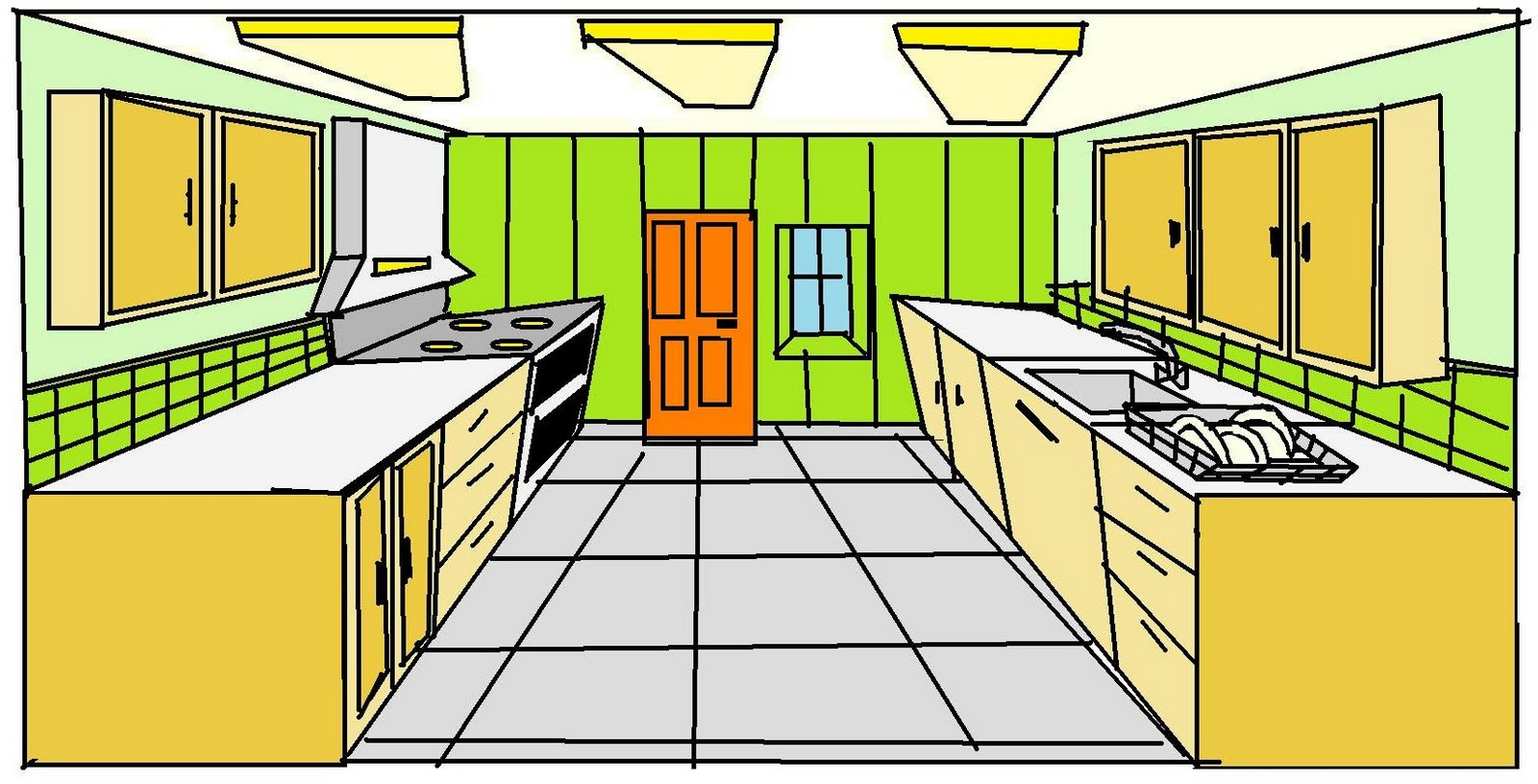 Kitchen Faucet Repairs Animated Kitchen