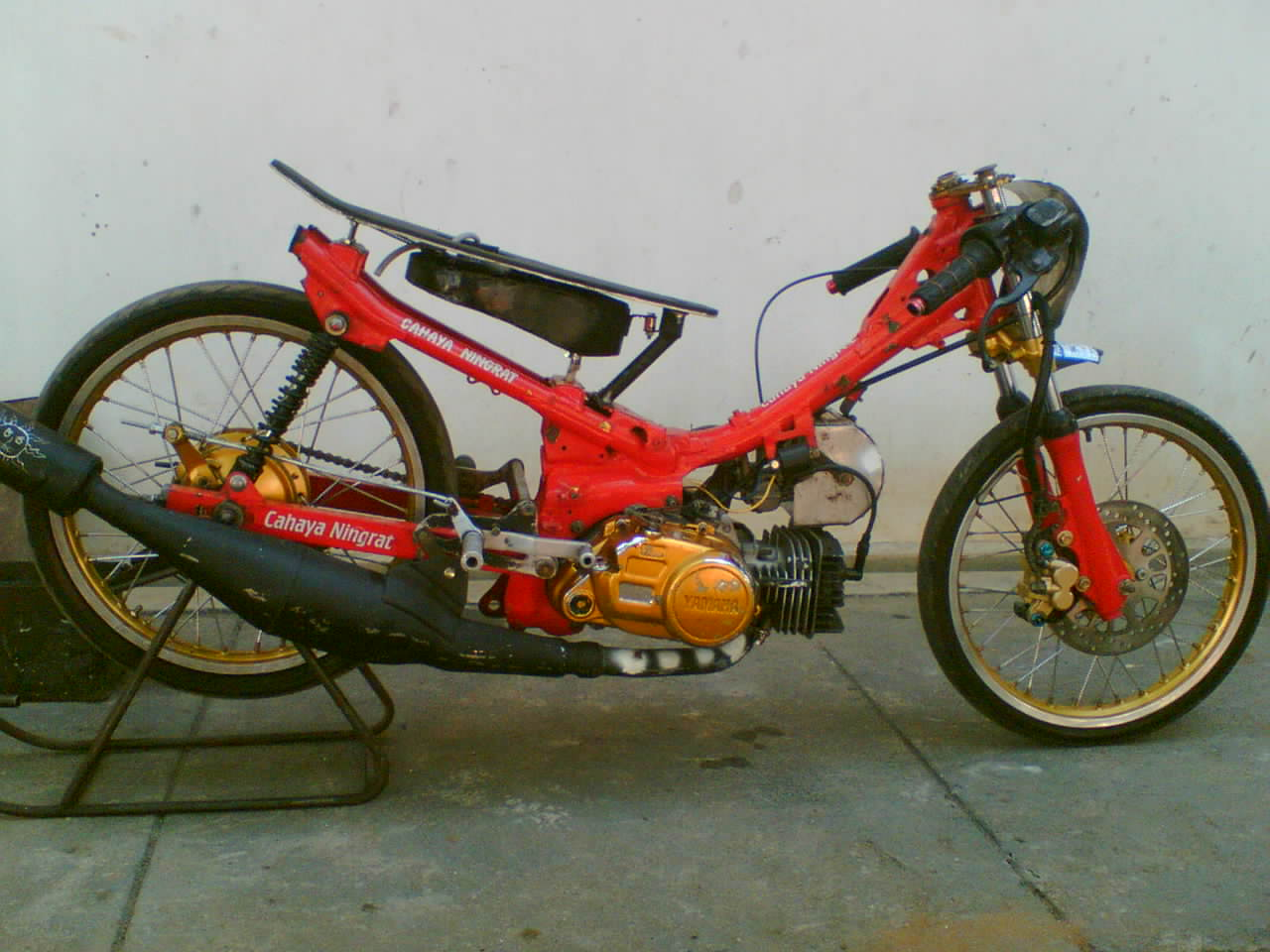 Download Image Drag Motor Red Yamaha PC Roid IPhone And IPad