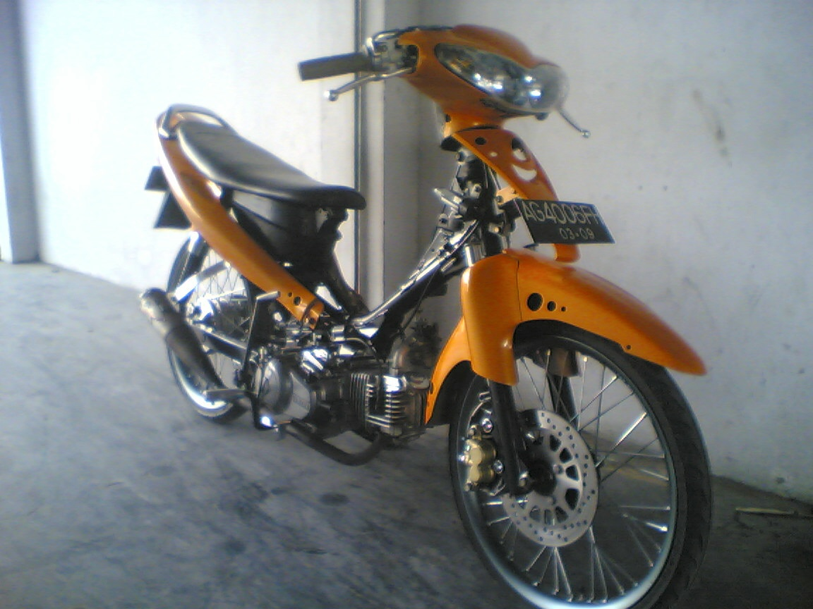 Drag Motor Orange Jupiter part 1