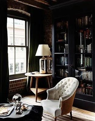 Roseland Greene Black Cabinet