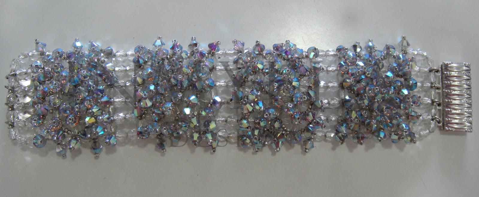 523bf355e192 Inmylla design  Pulsera en cristal AB de Swarovski