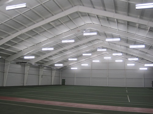 Metal Building Restoration Insulation And Lighting