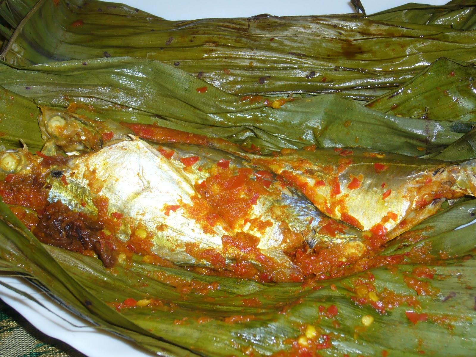cute oven sayur bening  pais ikan Resepi Ikan Tenggiri Pais Enak dan Mudah