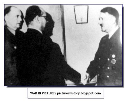 Subhash Chandra Bose meets Hitler