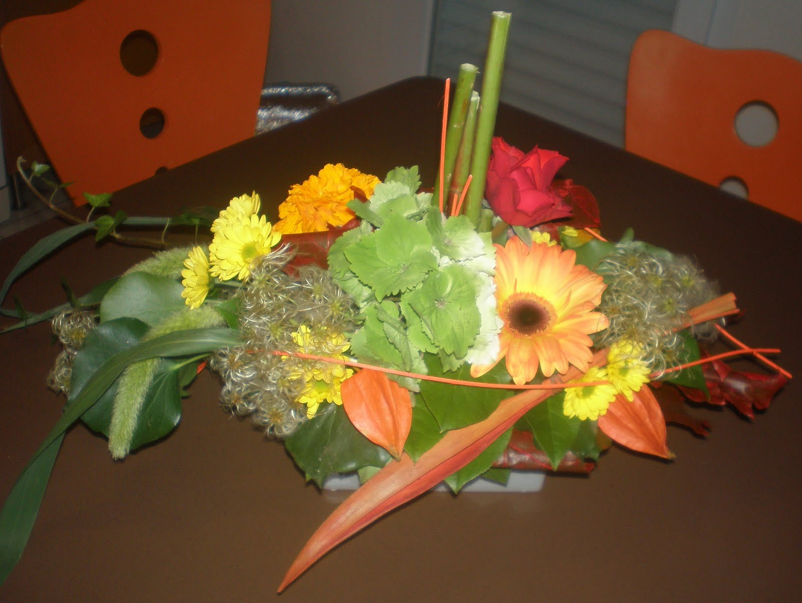 amaliz cr ations 1er cours d 39 art floral. Black Bedroom Furniture Sets. Home Design Ideas
