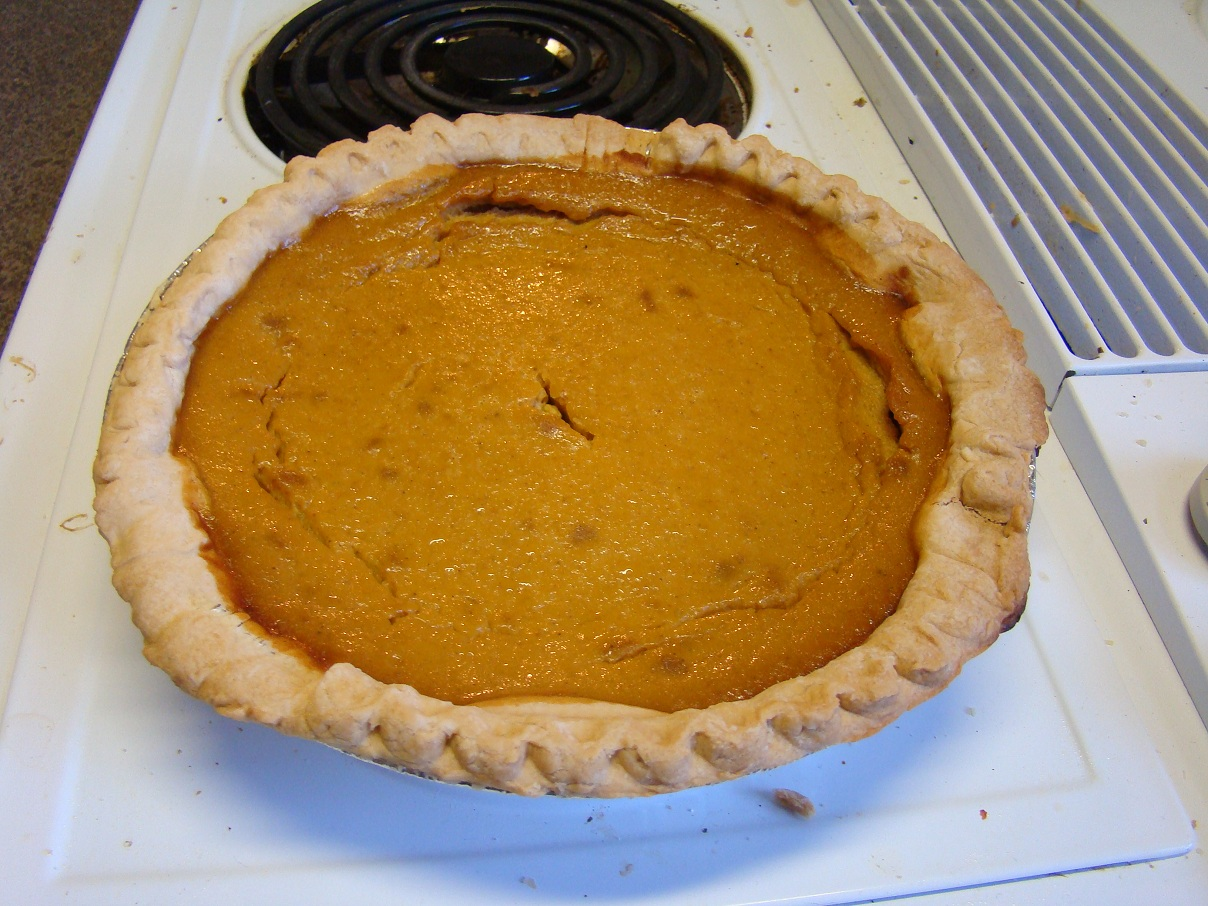 Something Different For Dinner Pumpkin Pie
